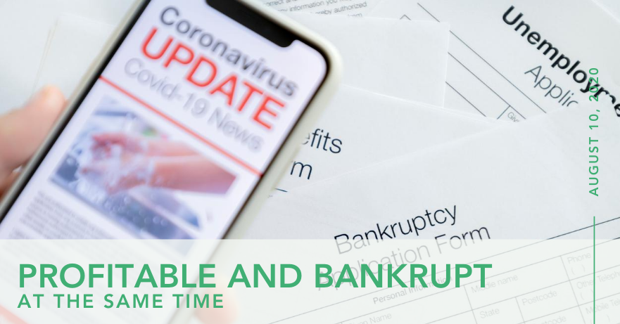 Profitable And Bankrupt At The Same Time - Wealthyiq